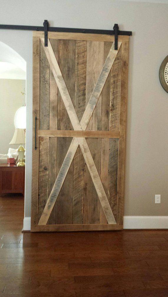 Reclaimed Barnwood Door Handmade Reclaimed Barn Wood Barn