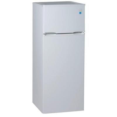 avanti 7 4 cu ft built in top freezer refrigerator in