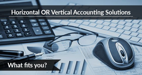 Check out here which #accounting #solution you need. Horizontal or Vertical? @tweakyourbiz
