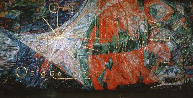 Italsko-česká pracovní skupina pro obnovu a restaurování mozaiky Ballardini v Praze