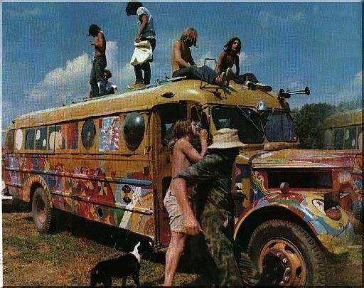 Festival woodstock - Agosto de 1969