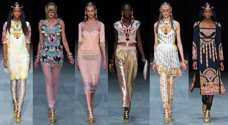 Paris Fashion Week – Manish Arora + Amrapali's Bold Jewelry Collaboration|