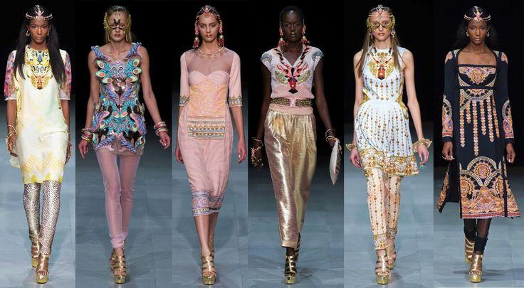 Paris Fashion Week – Manish Arora + Amrapali's Bold Jewelry Collaboration|