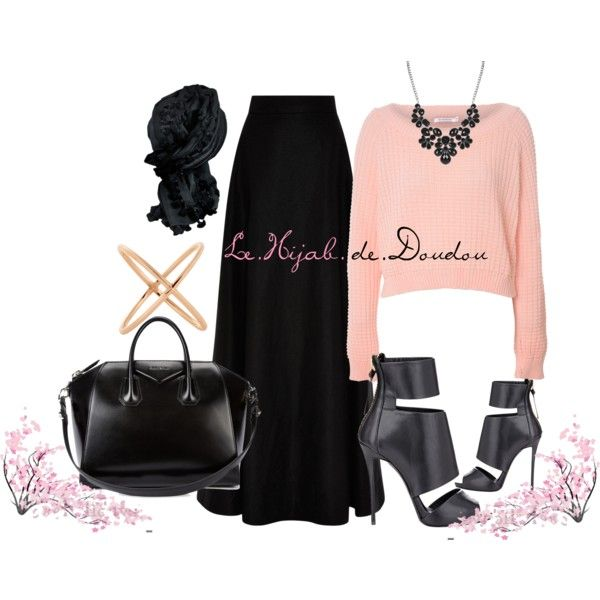 197 best polyvore hijab images on Pinterest | Casual wear Outfit ideas and Woman fashion
