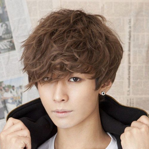 Long KPop Guy Hairstyles