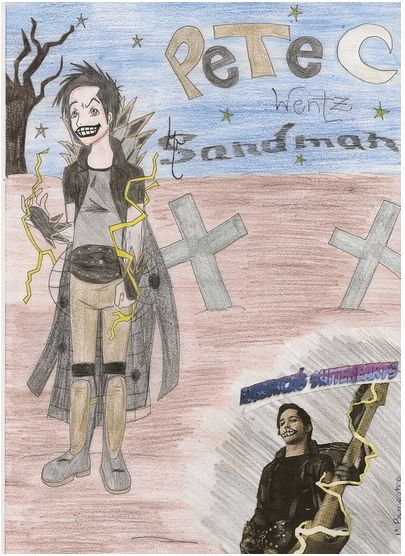 """Mr. Sandman (Pete Wentz)""; Created by Alice Gelmini"