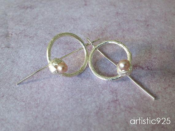 Sterling Silver Bluegum Pod Earrings by Artistic925Jewellery, $56.00
