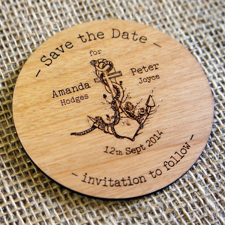 cruise wedding save the date announcement%0A Wooden and Acrylic Save the date coasters are Ideal for Weddings  socials  or business