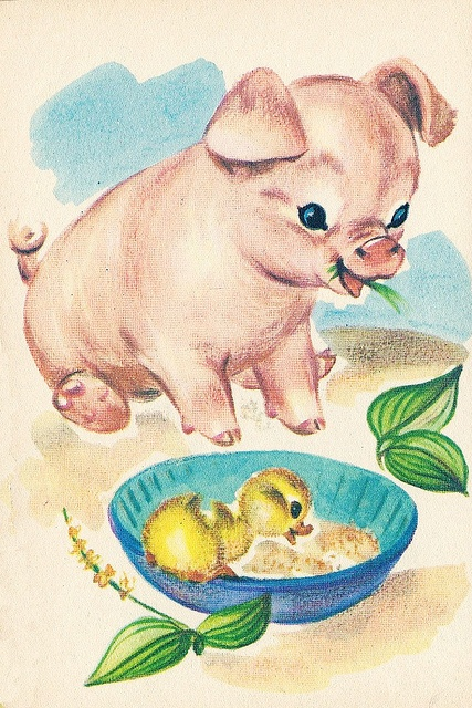 Vintage illustration @Sarah Chintomby Chintomby Chintomby Chintomby Oliver - this reminded me of you :)