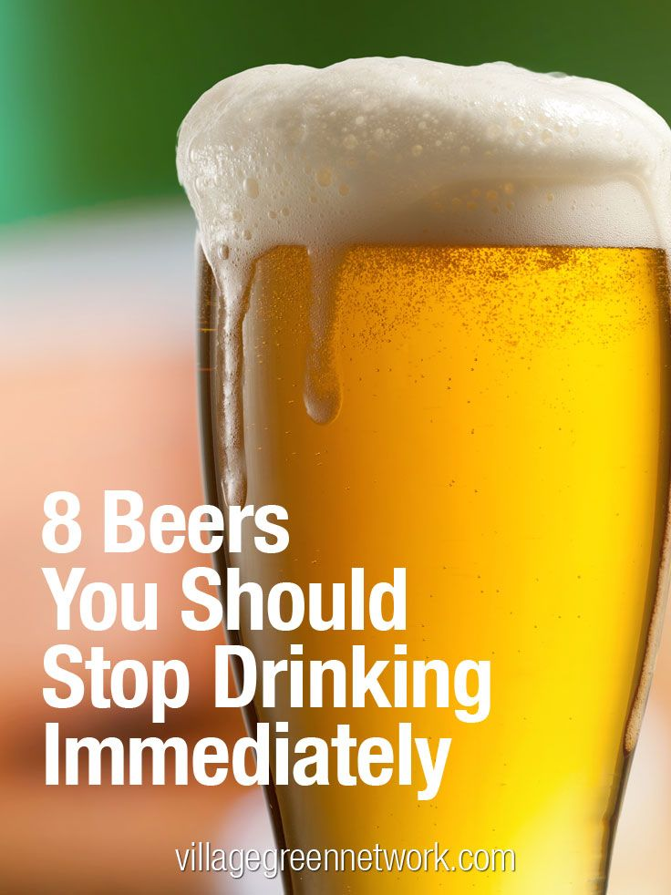 8 Beers You Should Stop Drinking Immediately