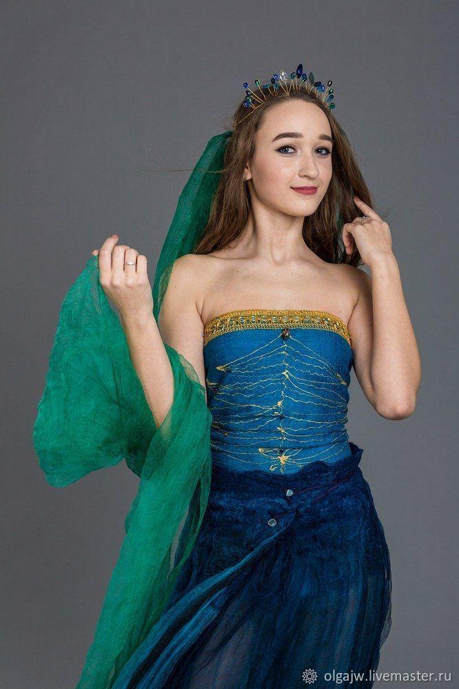 Корона Океанской принцессы – купить в интернет-магазине на Ярмарке Мастеров с доставкой - DZUMXRU