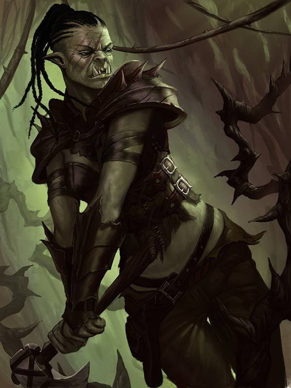 Ranger Orc by lithriel on DeviantArt---- Orcs just seem so badass,  I really want to make one