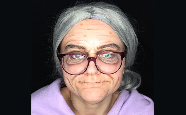 DIY Old Person Costume | DIY Old Person Costume Ideas
