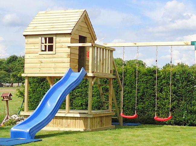Spielturm Oben Haus Spielturm Garten Spielturm Kinderspielturm Garten