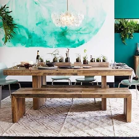 "Emmerson 62"" Dining Table, Reclaimed Pine At West Elm - Dining Tables - Kitchen Tables"