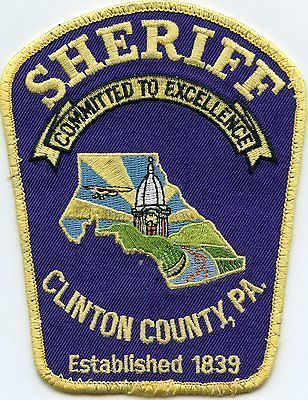 CLINTON-COUNTY-PENNSYLVANIA-SHERIFF-PATCH