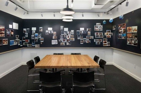 Conference Rooms that are inviting and inspire collaboration.