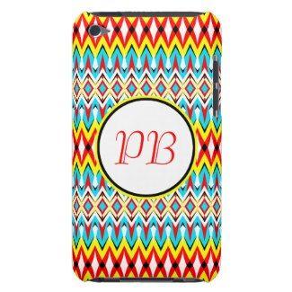 Oriental tribal rhombus native pattern duogram iPod Case-Mate case #classic #tribal #rhombus #duogram #customizable #smartphone #case #gift