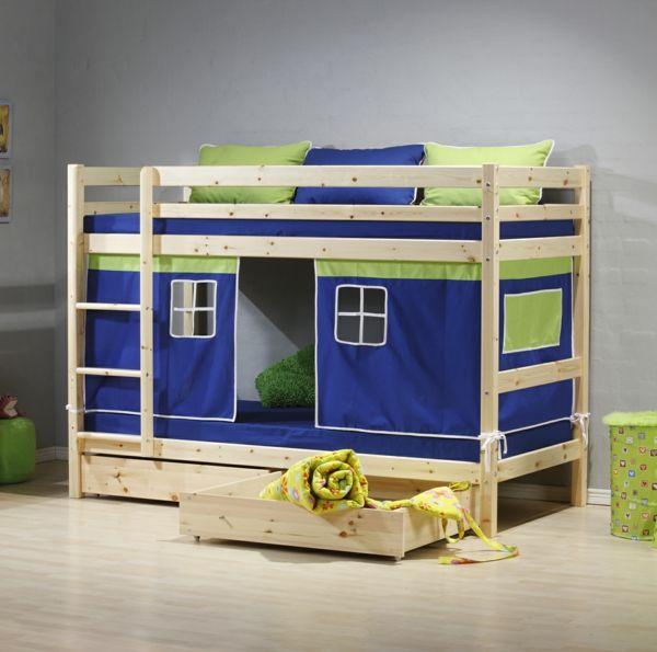 Farbideen Wohnzimmer Kinderzimmer Etagenbett