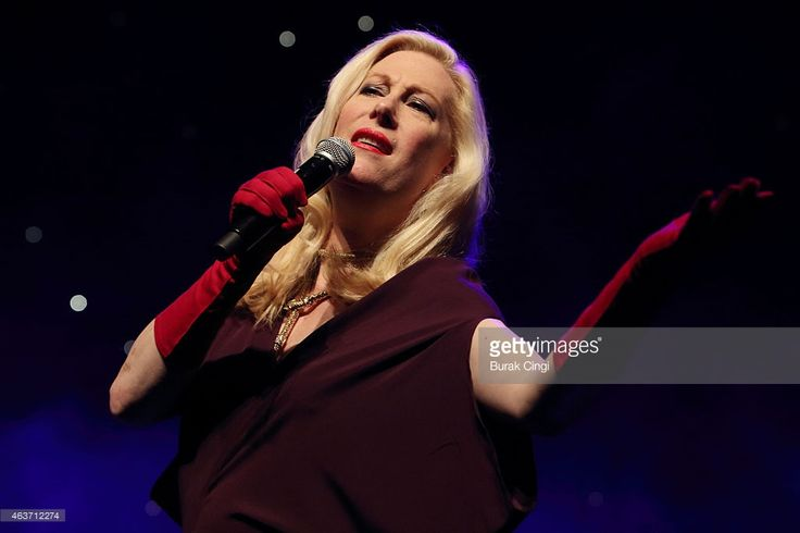 Justin Vivian Bond performs 'Love is Crazy' on stage at Queen Elizabeth Hall on February 17, 2015 in London, United Kingdom.