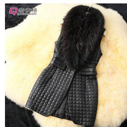 Купить товарОсень и зима женщины мех жилет куртка длинная дизайн полиуретан кожа куртка приталенный верхняя одежда в категории Мех натуральный и искусственныйна AliExpress.              Размер диаграммы                            Обратите внимание: это размер диаграммы для справки, Если у вас
