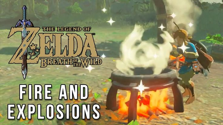 Zelda: Breath of the Wild - Fire & Explosions compilation