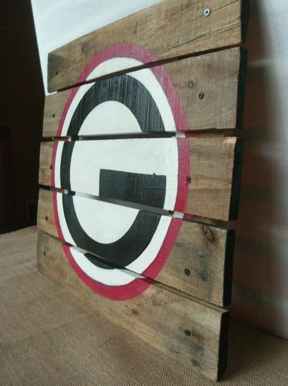 Georgia Bulldogs Pallet Sign University Of by SimpleRusticCharm