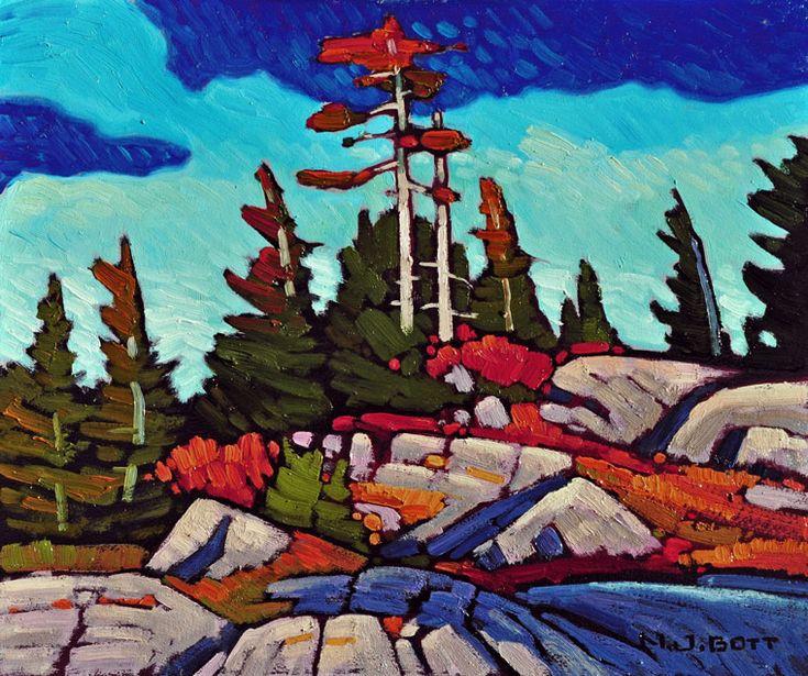 Vertex Pines, by Nicholas Bott