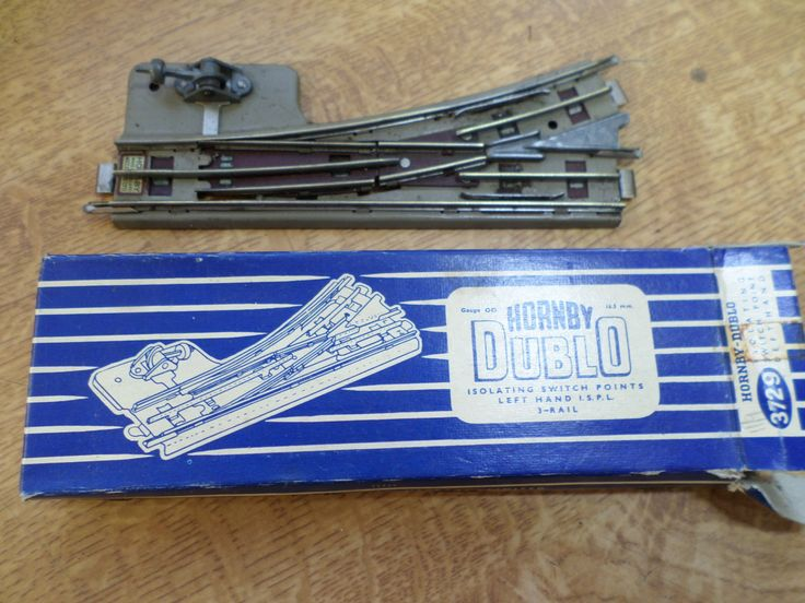 Hornby Dublo 3 Rail Isolating Switch Points Left Hand (2) by RoseCollectable on Etsy