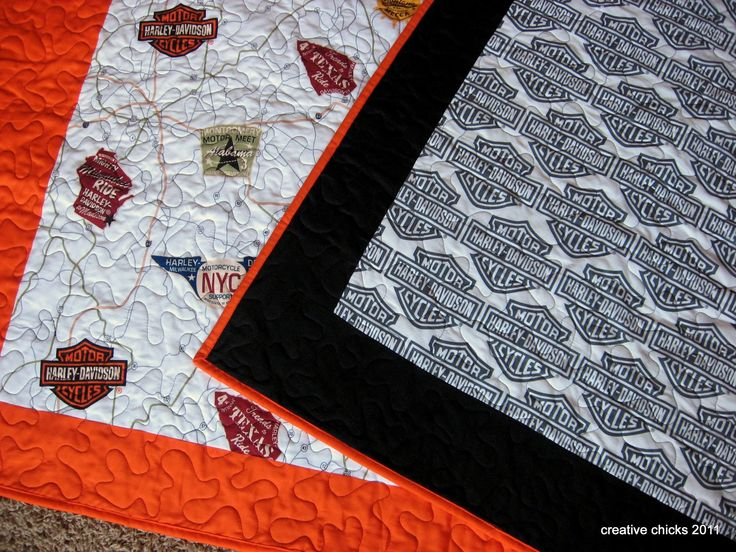 harley davidson fabric at walmart | Creative Chicks: Harley Twins