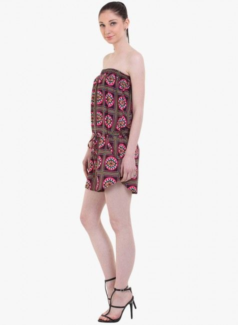 circle print playsuit at cheap price buy online - instacrush.in  #rompers