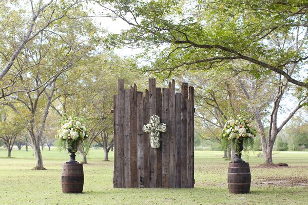 rustic outdoor chapel | Anna K Photography #wedding