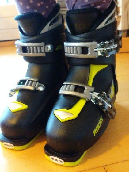 Roces mitwachsende Skistiefel