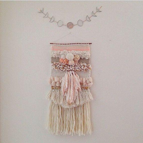 CUSTOM weaving for Eleanor Ayres woven wall door MaryanneMoodie