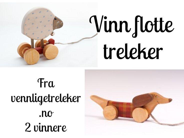Luke 22 // Vennlige treleker  www.frujacobsen.com