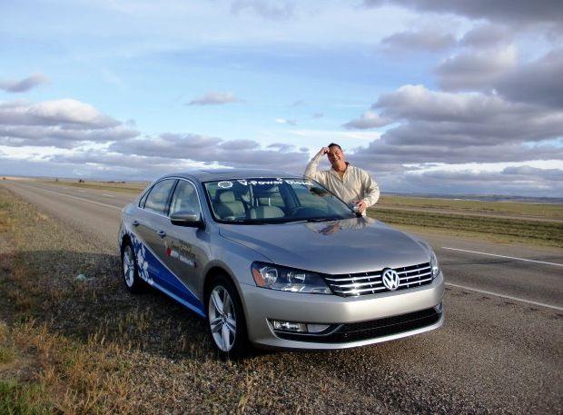 Driving across the Prairies - VW Cross Canada Diesel Tour - awesome adventure