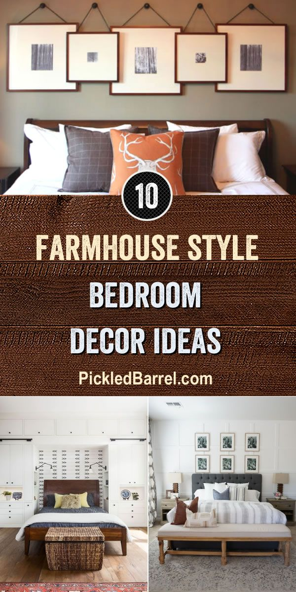 Farmhouse Style Bedroom Decor Ideas