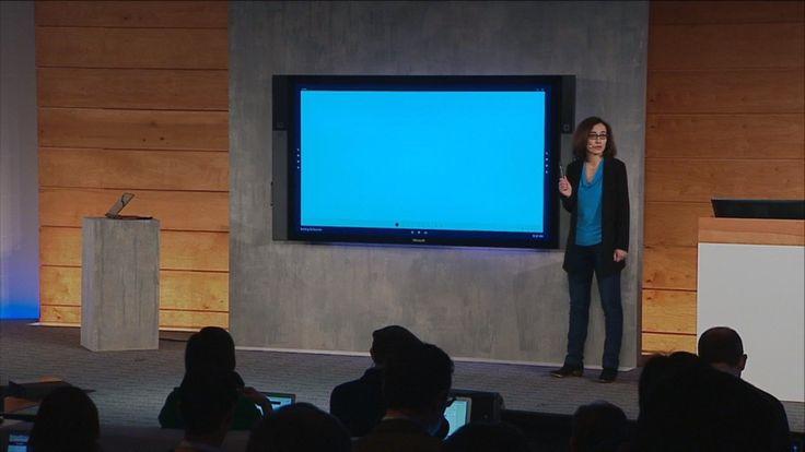 "Microsoft announces its 84"" Surface Hub computer - http://www.doi-toshin.com/microsoft-announces-84-surface-hub-computer/"