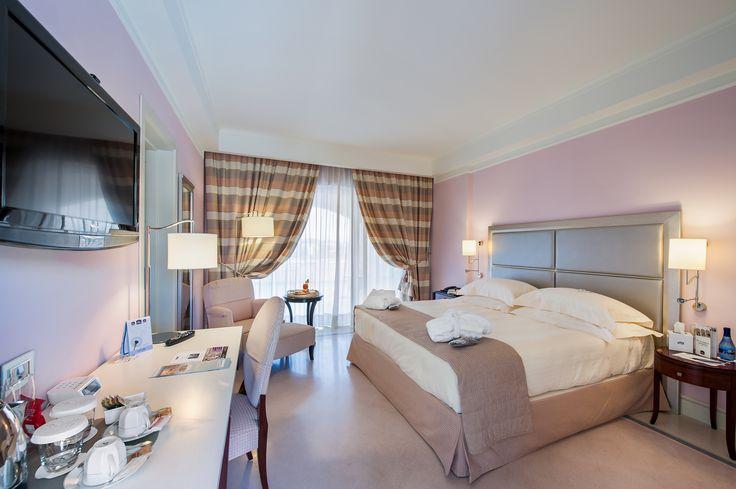 Camera romantica al BEST WESTERN PREMIER Villa Fabiano Palace Hotel Cosenza Rende #room #camera #hotel #design