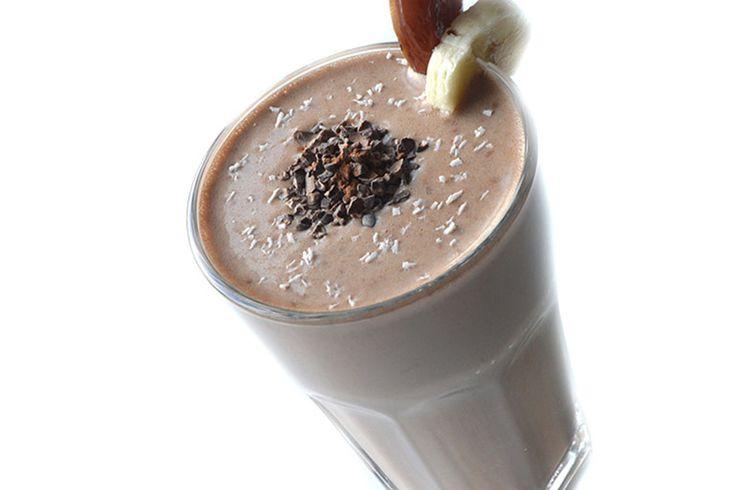 Recept smoothie banaan cacao