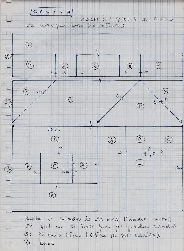 Las 25 mejores ideas sobre patrones de colchas en - Patrones casas patchwork ...