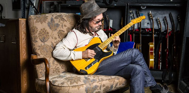 The Heartbreakers guitarist is donating his proceeds from the guitar to his wife's non-profit organization, Tazzy Animal Rescue Fund, which operates as a full functioning animal rescue, while focusing on seniors and the medically challenged.