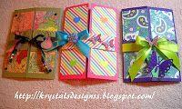 Krystal's Designs: Tarjetas para una Buena Amiga