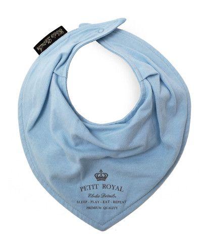 Baby Bandana Bib - Petit Royal Blue – Baby Luno
