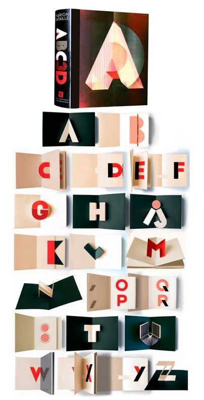 ADC3D by French pop-up artist Marion Bataille