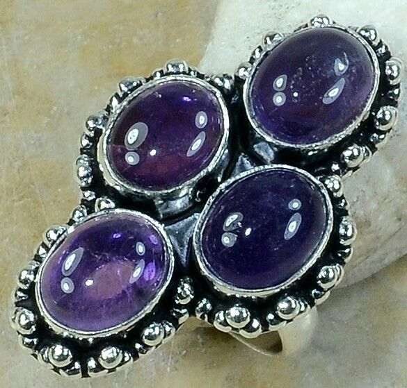 Amethyst ring in 925  https://www.etsy.com/shop/AngelicEnchantments