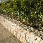 Muro de pedra em moradia privada, Albufeira, Portugal