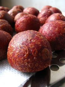 My Little Space: Deep Fried Purple Sweet Potato Balls