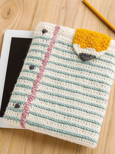 What's New - Crochet - Note-able Tablet Cover