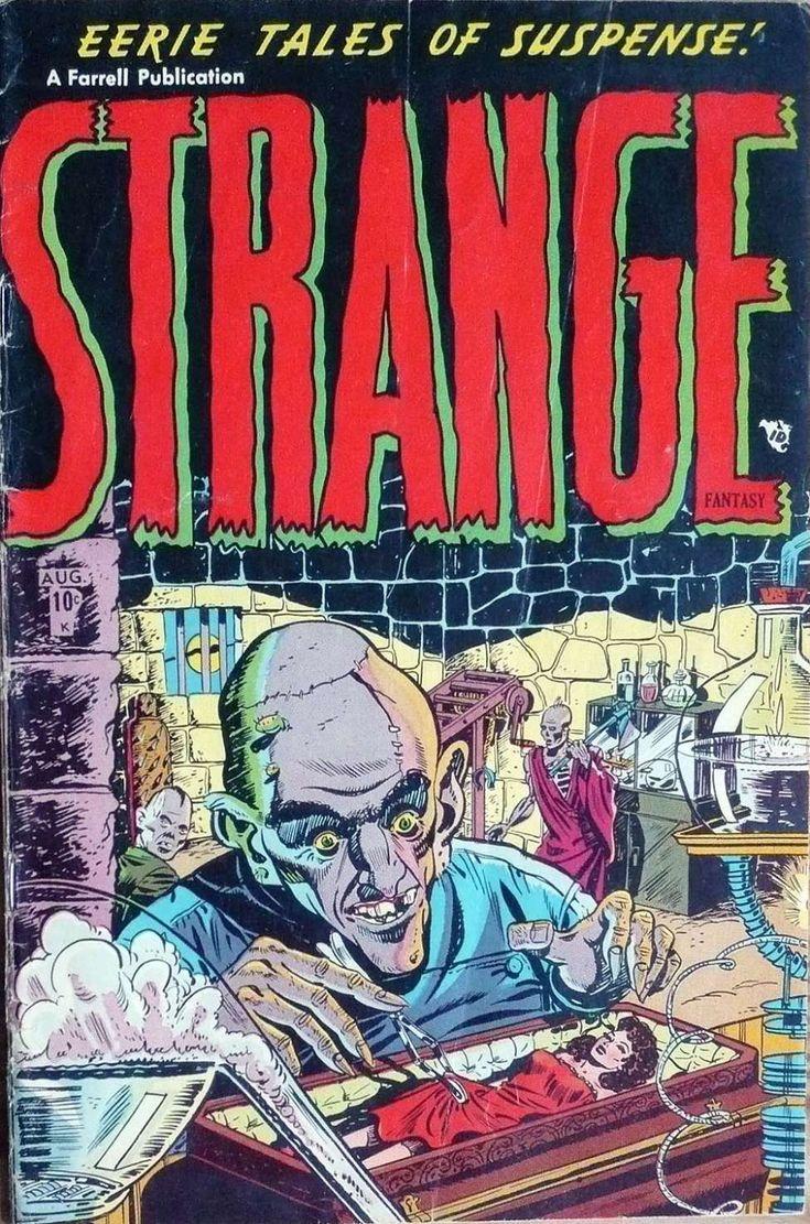Comic Book Cover For Strange Fantasy V1 2 [1]